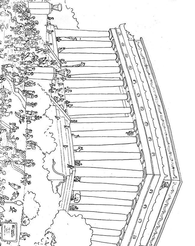 lincoln memorial coloring pages - photo#26